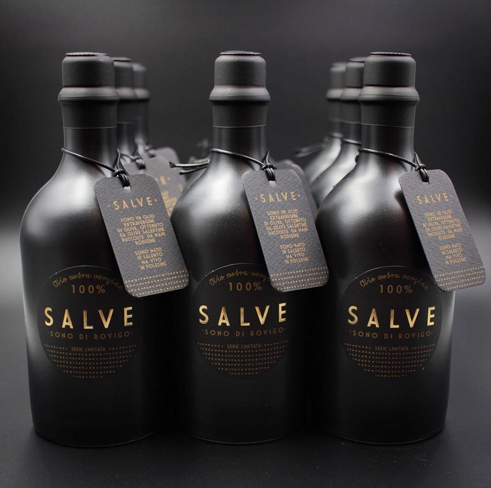 Bottiglie in ceramica nera, Black Edition